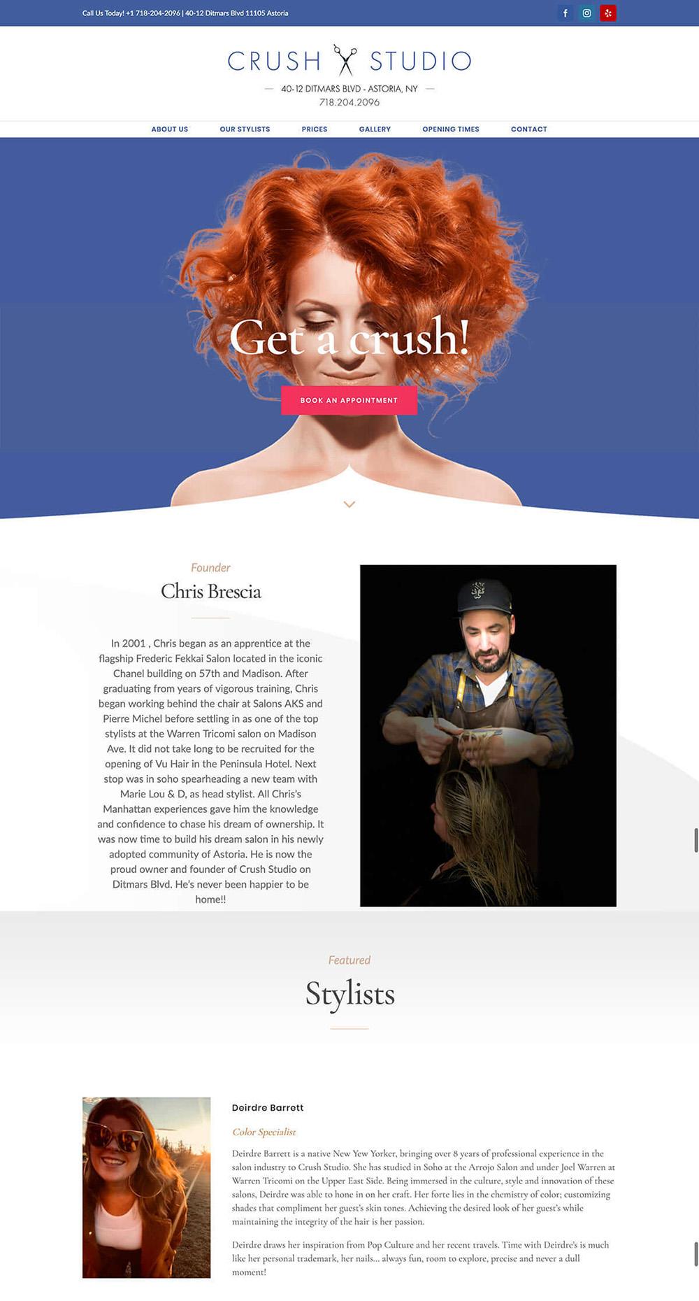 Crush Studio Project - Digital Marketing